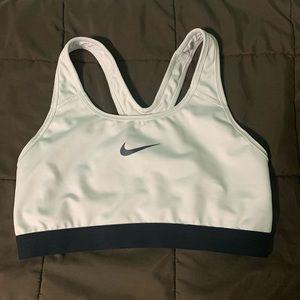 Nike Dri Fit workout sports bra elastic band sz M
